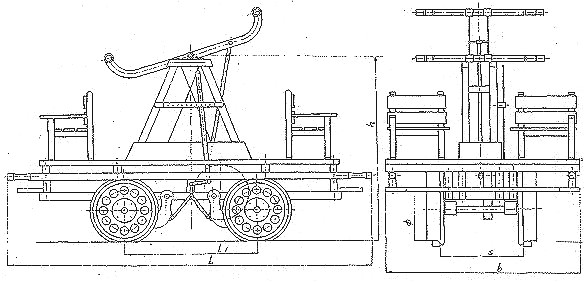 draisine hand pump car pump trolley velorail rail cycle
