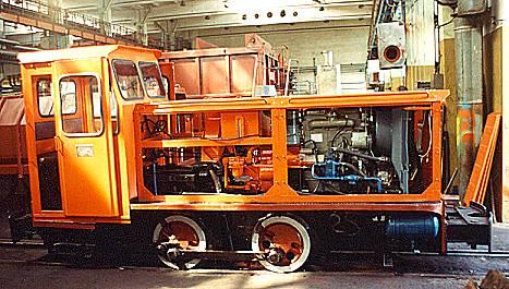 Was wiegt eine lokomotive